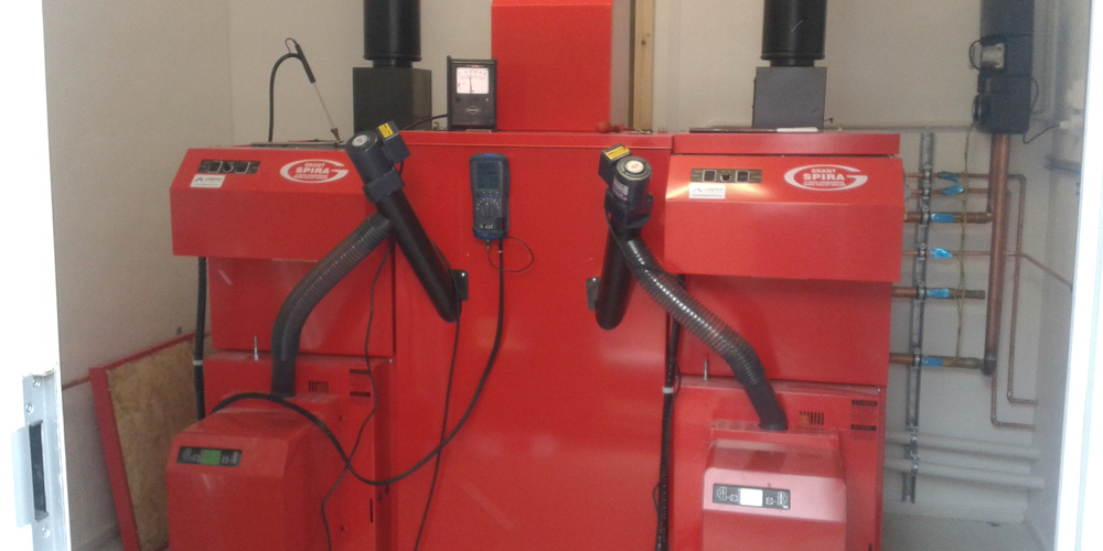 Biomass Heating System Installation - Case Study - Image 27