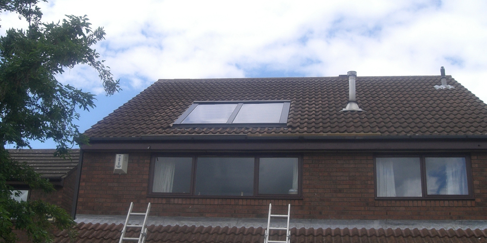 Domestic Solar Water Heating - Case Study - Image 1