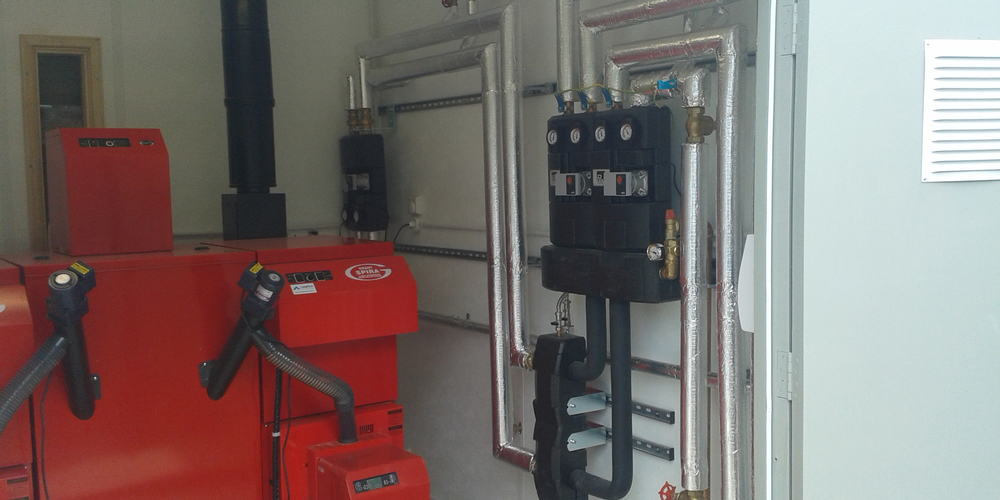 Biomass Heating System Installation - Case Study - Image 37