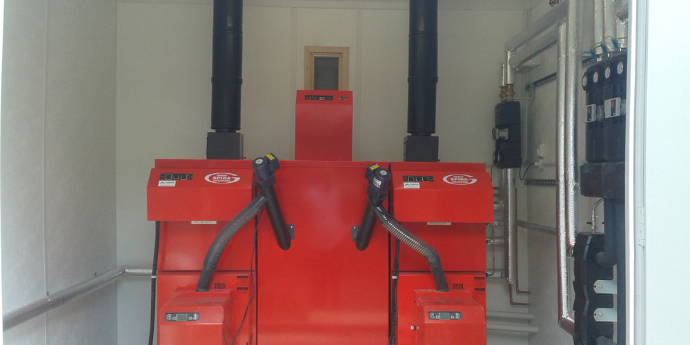 Biomass Heating System Installation - Case Study - Image 39