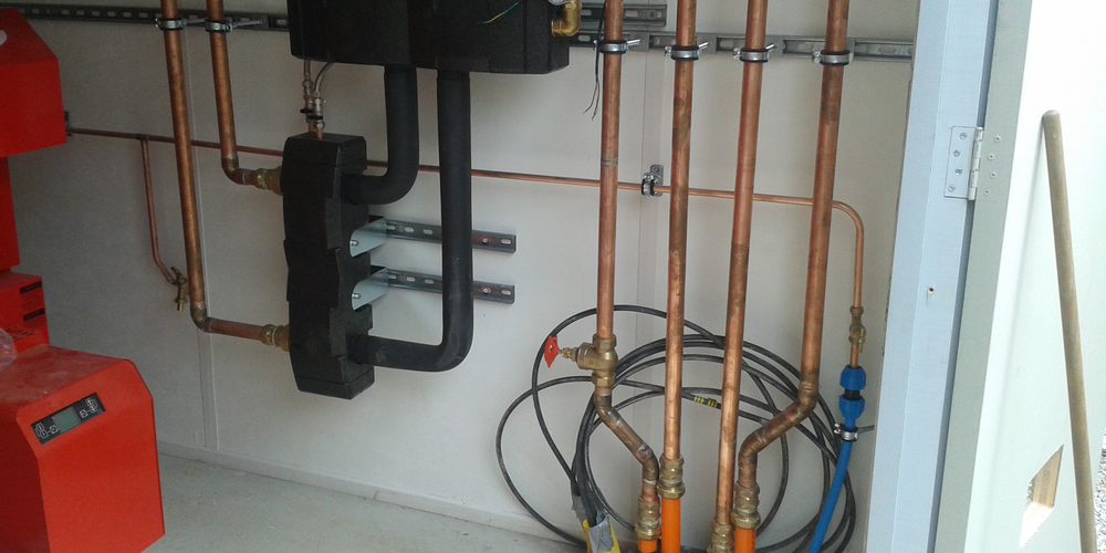 Biomass Heating System Installation - Case Study - Image 17