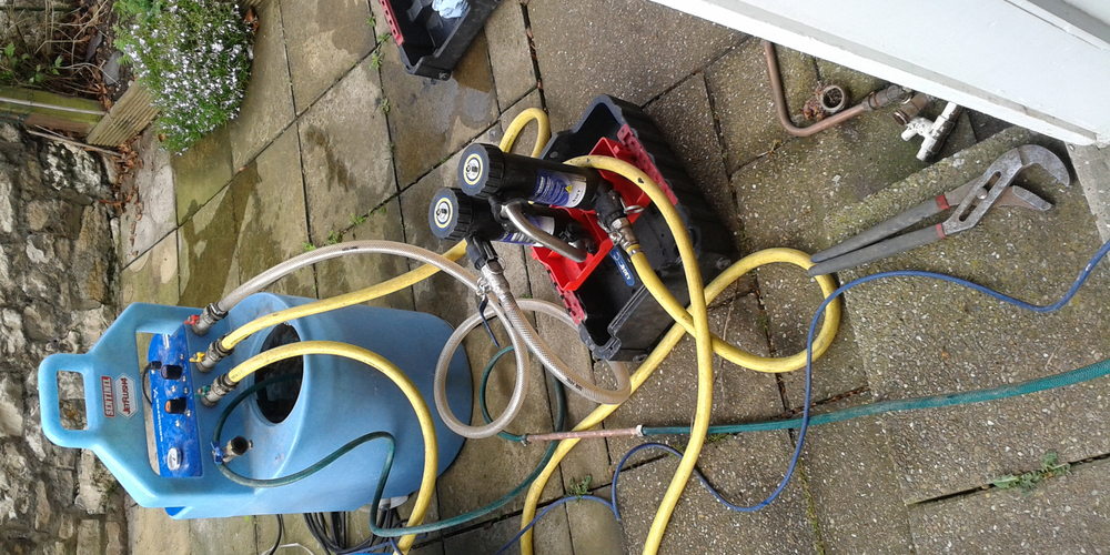 Central Heating Power Flushing - Case Study - Image 2