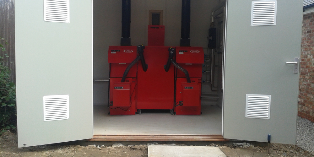 Biomass Heating System Installation - Case Study - Image 41