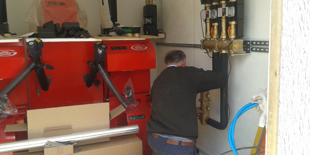 Biomass Heating System Installation - Case Study - Image 13