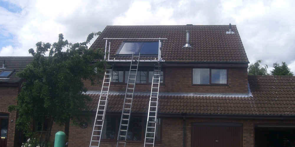 Domestic Solar Water Heating - Case Study - Image 2